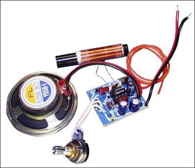 Принципиальная электрическая схема радиоприемника показана на рис. 5. Это детекторный радиоприемник прямого усиления...