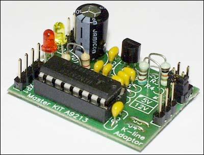 есть какая то информация нужен универсальный K-Line адаптер например...