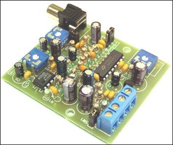 """Электронный ревербератор (HT8970), эффект  """"эхо """" и  """"объемный звук """" Предлагаемый блок (все компоненты уже припаяны на..."""