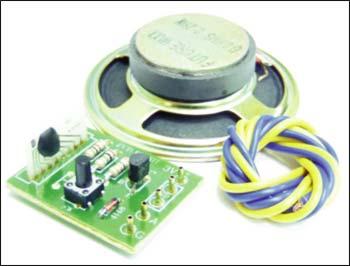 Звук разбитого стекла Предлагаемый наор позволит радиолюбителю собрать имитатор звука разбитого стекла.