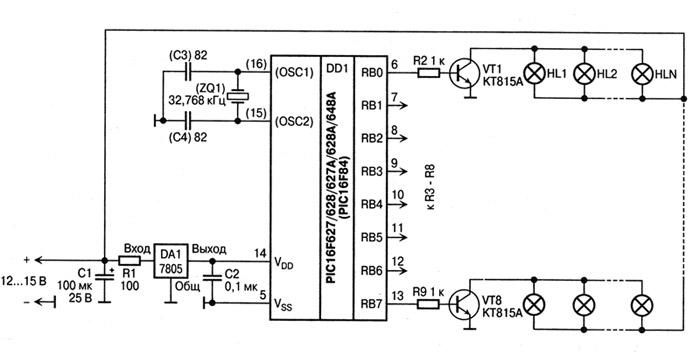 Инфракрасный приемопередатчик с интерфейсом USB Устройство, схема которого приведена ниже, предназначено для...
