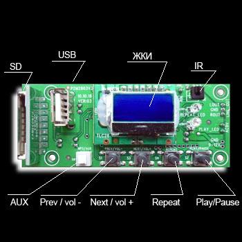 Схема подключения пульта управления светом фото 852