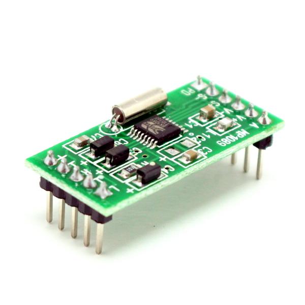 MP1089 позволяет принимать вещательные станции диапазона FM.  Модуль имеет полностью цифровую схему...