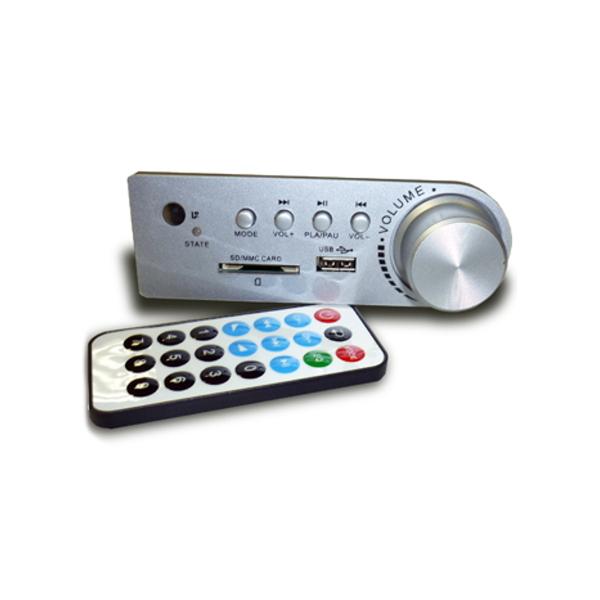 Простой встраиваемый USB-MP3/WMA плеер с пультом ДУ.  Разветвитель видеосигналов Разветвитель видеосигналов...