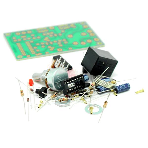 Рисунок 1. Общий вид устройства.  Таймер выполнен на основе микросхемы CD4060 - 14-ти разрядного счетчика.