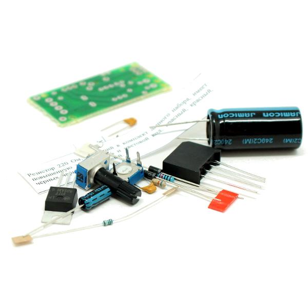 Abstract: Requlator (100mA) LM317L On-Semi Adjustable Output Positive Voltage Requlator.