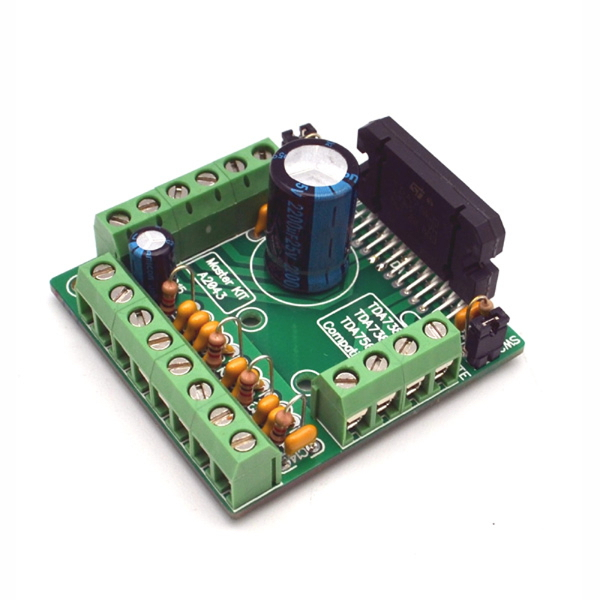 Усилитель НЧ 4 х 77 Вт (TDA7560) Предлагаемое устройство принадлежит к...