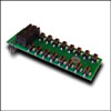 Отладочный модуль с кнопками и светодиодами